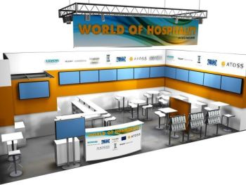 Stand World of Hospitality Rendering