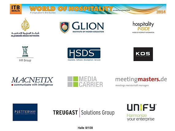 ITB 2014 World of Hospitality Partner
