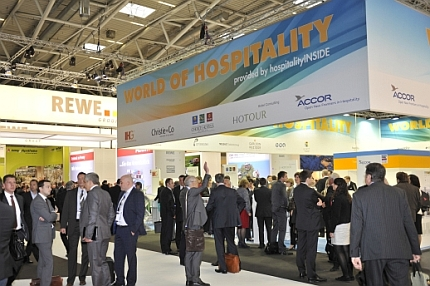 World of Hospitality Expo Real 2014 Stand aussen