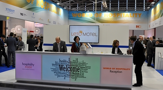 Expo Real 2015 Stand Welcome Desk