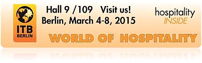 ITB 2015 World of Hospitality Banner