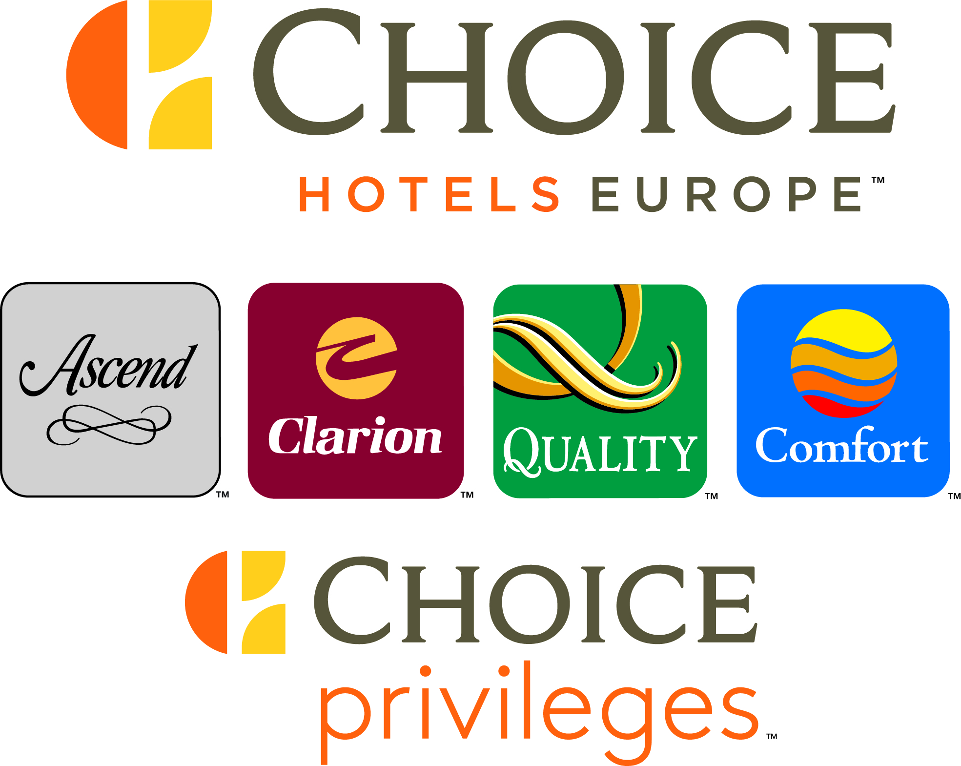 Logo CHOICE HOTELS