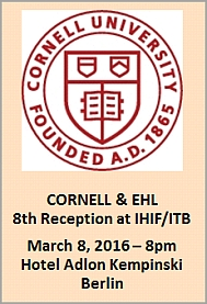 Cornell EHL Empfang 2016 engl