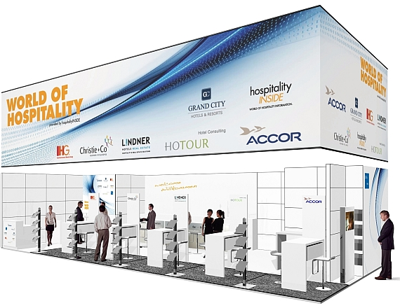 Stand Rendering Expo Real 2011