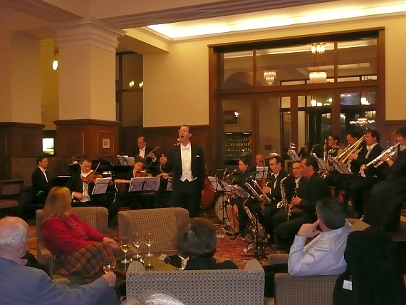 Konzert bei Historic Hotels Meeting