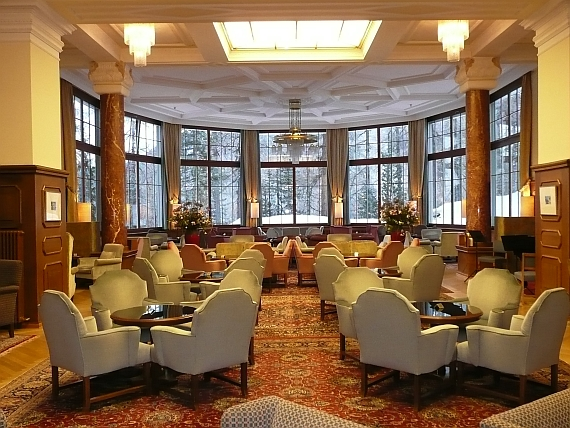 Historic Hotels Waldhaus Lobby